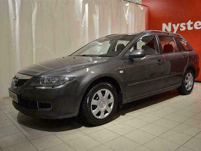 käytetty Mazda 6 Sport Wagon 1,8 Limited 5MT 5ov *VETOKOUKKU*SISÄPISTOKE*VASTA HUOLLETTU*