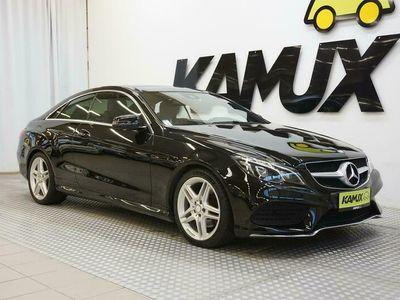 käytetty Mercedes E220 CDI BE Coupé A / AMG-Styling / Nahat / Panorama / Kamera / TULOSSA!
