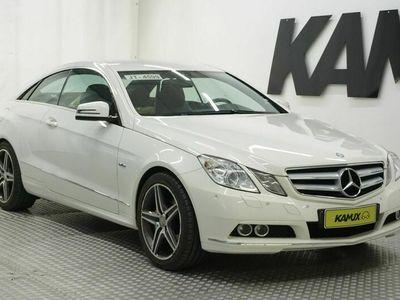 käytetty Mercedes E200 ECoupé / Sporttipenkit / 1/2 Nahat / Cruise / etu/taka Tutkat /
