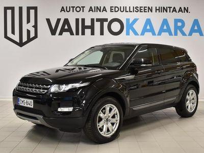 käytetty Land Rover Range Rover evoque 2,2 SD4 190HV!!! Dynamic Aut VARUSTELTU! # Xenon, Vetokoukku, Panoraama, Pysäköintitutka, Bluetooth,