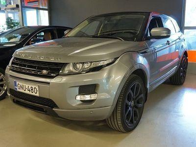 käytetty Land Rover Range Rover evoque 2,2 SD4 190hv aut ** NÄYTTÄVÄ / NAHAT / HIFI / KAMERA / KOUKKU / BLUETOOTH **