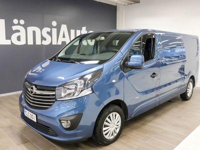 käytetty Opel Vivaro Van Sportive L2H1 1,6 CDTI Bi Turbo ecoFLEX 107kW MT6 **** LänsiAuto Safe -sopimus hintaan 590€. ****