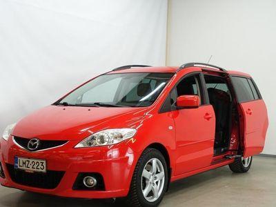 käytetty Mazda 5 2.0TD Elegance Business 5-ov (HD4) - ** 7-PAIKKAINEN ** KOUKKU ** JUURI KATSASTETTU **
