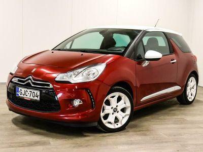 käytetty Citroën DS3 THP 156 Sport Chic - Rahoitus jopa ilman käsirahaa 1.89%! Hieno yksilö!