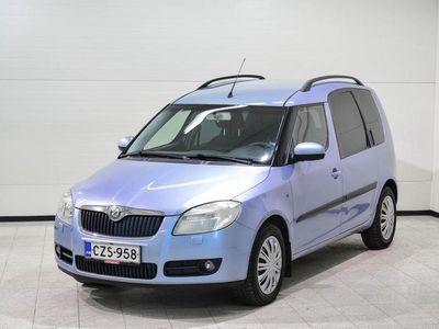 käytetty Skoda Roomster 1,4 16V Comfort - Hieno ja tilava käyttöauto!