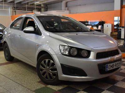 käytetty Chevrolet Aveo 4-ov LT 1,4 74kW MT5 ** Suomi-auto / Vakkari / Handsfree / Lohkolämmitin + sisäpistoke **