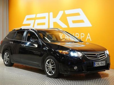 käytetty Honda Accord Tourer 2,0 Executive AT Business ** Suomiauto / Lohko+sisäp. / Muistipenkki / Kattoluukku **