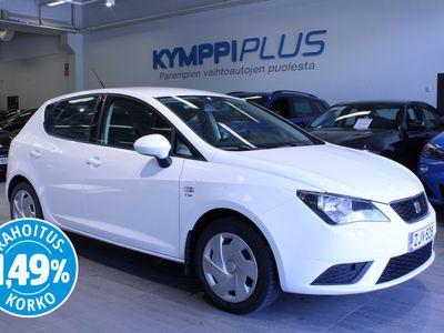 käytetty Seat Ibiza 1,2 TSI Edition - ** RAHOITUSKORKO 1,49% ** - Suomi-auto / Ilmastointi / Vakkari / Lohkolämmitin / Aux