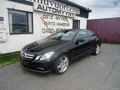 käytetty Mercedes E250 CGI BE AVANTGARDE COUPE