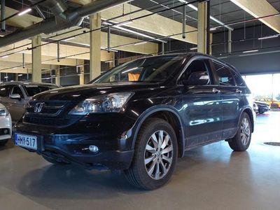 käytetty Honda CR-V 2,2 i-DTEC Elegance Lifestyle AT 4WD Business ** Merkkihuollettu Suomiauto / Webasto / Nahka-Alcanta