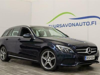 käytetty Mercedes C200 d T A Premium Business ** SUOMI-AUTO / VETOKOUKKU **