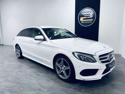 käytetty Mercedes C220 d T BLUETEC AUT AMG-STYLING **WEBASTO, SÄHK. VETOKOUKKU, NAHAT, TUTKAT & KORKO 1,99%**
