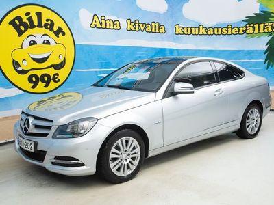 käytetty Mercedes C250 BE 150kW Coupe ** NAVI * KAMERA * PANORAAMA * NAHAT **