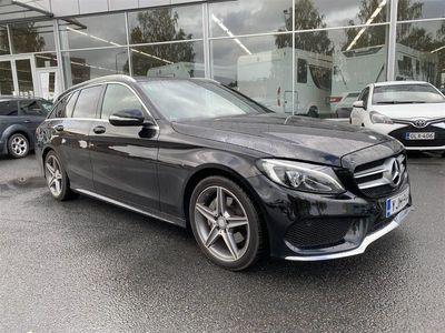käytetty Mercedes C220 CBLUETEC **AMG, Panorama,Nahkasisusta**