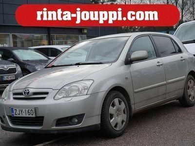 käytetty Toyota Corolla 1.6 VVT-i Sol 5d - Vakionopeudensäädin, Lohkolämmitin, Merkkiliikkeen huoltokirja