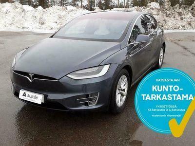 käytetty Tesla Model X *6-PAIKKAINEN*100D /FSD Valmius/Lasikatto AWD Aut. Tarkastettuna, Rahoituksella, Kotiin toimitettuna!