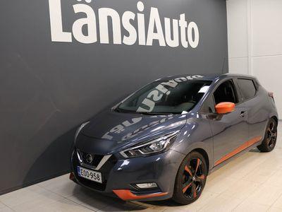 käytetty Nissan Micra IG-T 90 S/S N-Connecta 5M/T LED Tech pack Ext Pack Plus Orange ** Bose - Navi - Suomi-auto ** **** LänsiAuto Safe -sopimus hintaan 590e ****