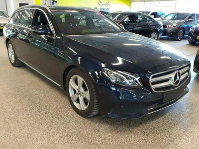 käytetty Mercedes E200 T A Business / Led-ajovalot / Garmin navi / Nahkaverhoilu / Peruutuskamera!