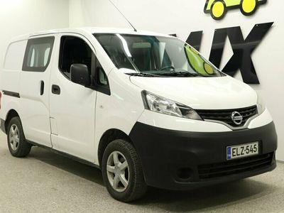 käytetty Nissan NV200 Van 1,5 dCi 85 5MT Glazed, SSD Glazed, Comfort / ALV / SUOMI-auto / Ilmastointi /