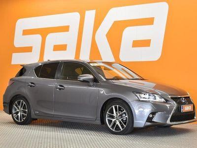 käytetty Lexus CT200h Hybrid A F-Sport ### NORMAL FRIDAY -hinta! ###** Merkkihuollettu / MirrorLink / puolinahkaverho