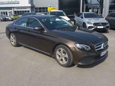 käytetty Mercedes E220 A Premium Business ** SIISTI SUOMI-AUTO ENSIMMÄISELTÄ OMISTAJALTA **