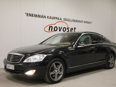 käytetty Mercedes S320 CDI 4d A *TÄSTÄ SUPERSIISTI JA VARUSTELTU ÄSSÄ ALLE! KATSO!*
