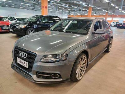 käytetty Audi A4 Avant 2,0 TDI DPF multitronic Business Plus ** NÄYTTÄVÄ / Suomi-auto / P-tutka / Vakkari **