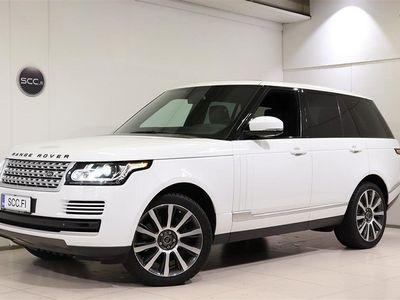 """käytetty Land Rover Range Rover SDV8 Vogue, Nahat, Panoraama, Navi, Xenon, 21"""" vanteet, Kaistavahti, TV, Hieronta"""