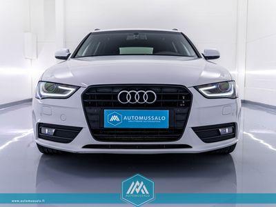 käytetty Audi A4 Facelift Avant Black Edition 2,0 TDI multironic *12kk turva! Jakohihna tehty! Koukku, Sporttipenkit, Xenon, Tutkat*
