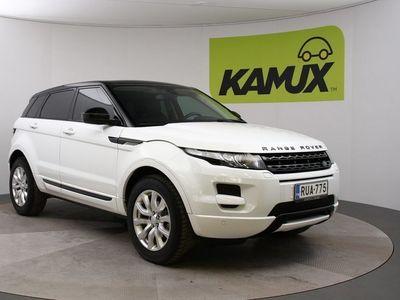 käytetty Land Rover Range Rover evoque 2,2 TD4 Dynamic Aut / Navi / Nahat / Meridian audio / Tutkat / Bluetooth / P-Kamera