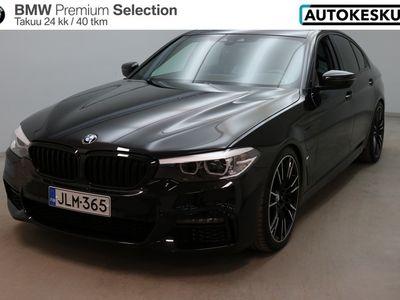 käytetty BMW 530 5-sarja e A Charged Edition G30 Sedan M Sport - Näyttävä kokonaisuus - BPS takuu 24 kuukautta/40 000 km