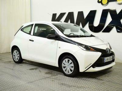 käytetty Toyota Aygo 1,0 VVT-i x 3ov ** TÄHÄN AUTOON APPROVED TURVA 12 KK VELOITUKSETTA, kysy lisää myyjältä ** **** Tähä