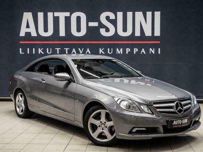 käytetty Mercedes E350 CGI BE Coupé A #Navigaattori #Nahkaverhoilu #
