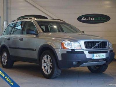 käytetty Volvo XC90 2.5T AWD 7 HENGEN AUTOMATIC + NAHAT + AC. Myös vaihto ja rahoitus. Nyt jopa ilman käsirahaa.