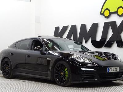 käytetty Porsche Panamera S E-Hybrid E- / Facelift / 2-Omisteinen Suomi-Auto / Merkkihuollettu / Bose /