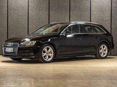 käytetty Audi A4 Avant First Edition Bus. 2,0 TDI 140 kW quattro // Korko 1,9% // Ruskeat nahat // Vakkari // Sähkökoukku // FACELIFT