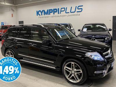 käytetty Mercedes GLK350 CDI BE 4Matic AMG * Webasto / Harman Kardon / Nahat / Navi / Panorama / Sähköluukku / Koukku / RAH...