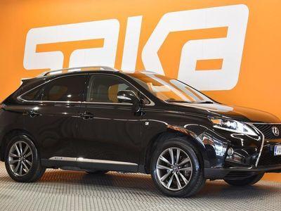 käytetty Lexus RX450h Hybrid 4WD F Sport A ** Merkkihuollettu / Vetokoukku / Kattoluukku / Nahkasisusta / HUD **