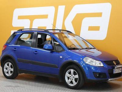 käytetty Suzuki SX4 1,6 VVT 4WD X-OVER GLX 5D 5MT ** Suomi-auto / Ilmastointi / Lohko + sisäpistoke **