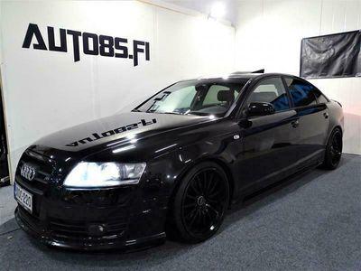 käytetty Audi A6 A6 ABT Sedan 3,0 TDI Quattro Aut.* RAHOITUS 0e KÄSIRAHALLA * HARVINAISUUS * XENON * EXCLUSIVE SISUSTA * COILIT YMS