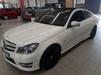 käytetty Mercedes C180 BE Coupé A Premium Business #AMG-Paketeilla #Avattava Panoramakatto #