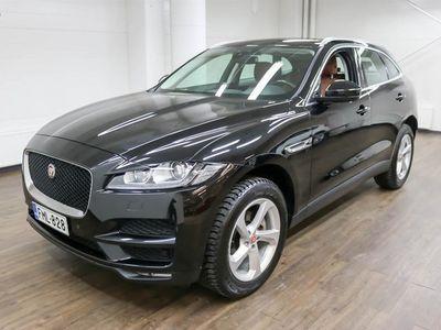 käytetty Jaguar F-Pace 20d AWD Aut Portfolio - Varusteltu yksilö! **** Korko 0,99% + min. 1500 EUR takuuhyvitys ****
