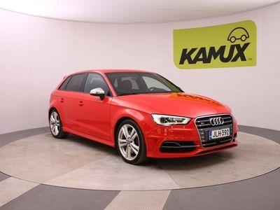 käytetty Audi S3 Sportback 2,0 TFSI 221 kW quattro S tronic / Juuri iso huolto tehty / Bang & Olufsen / Adaptiivinen