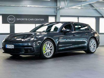 käytetty Porsche Panamera 4 E-Hybrid Sport Turismo ** SPORT-PUTKISTO / ADAPT. CRUISE / LED MATRIX / SOFT CLOSE **