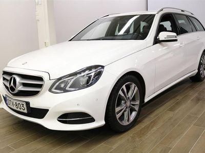"käytetty Mercedes E220 CDI BE T A Premium Business Avantgarde ""Webasto, ILS-valot"" **** Korko 0,99% + min. 1500 EUR tak"