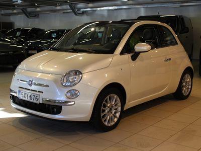 käytetty Fiat 500C Lounge 1,2 8v 69hv Bensiini - **Korkotarjous 1,59%** -
