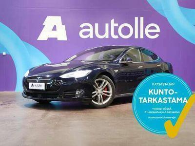 käytetty Tesla Model S *AUTOPILOT* P85D AWD CarbonFibre/Panoraama. Tarkastettuna, Rahoituksella, Kotiin toimitettuna!