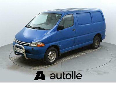 käytetty Toyota HiAce 2.4D 55kW Rahoituksella!