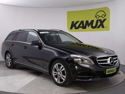 käytetty Mercedes E220 BlueTec T 4Matic A Premium 7-G // Kauko-ohjattu lisälämmitin / Osanahkaverhoilu / Ortopedi-istuin //