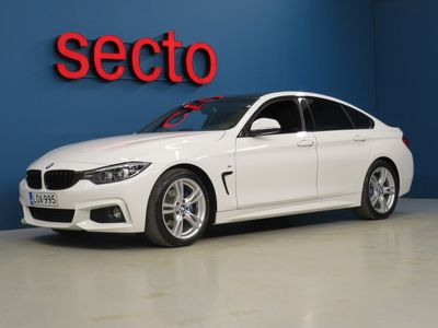käytetty BMW 420 4-sarja F36 Gran Coupe i A Business M-Sport, Vetokoukku, M-Sport Jarrut